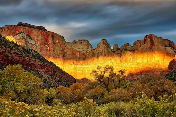 Tower of the Virgin Sunrise, Zion