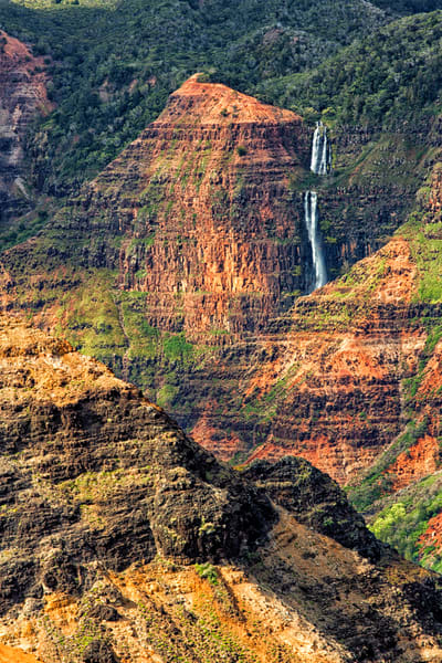 Waimea Canyon Waterfall, Kauai