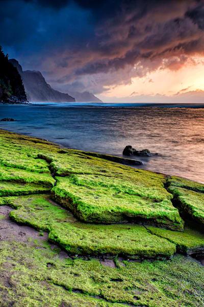 Na Pali storm, Maui