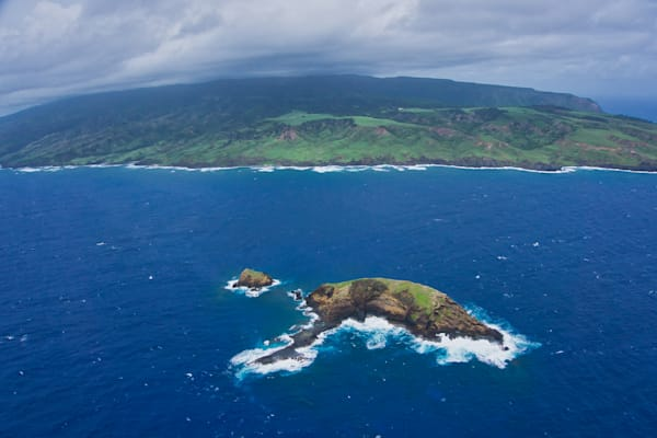 Elephant Rock Molokai, Hawaii