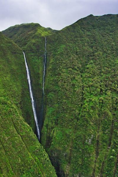 Molokai Waterfall, Hawaii