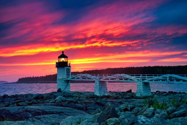 Marshall Point Lighthouse, Port Clyde, Maine