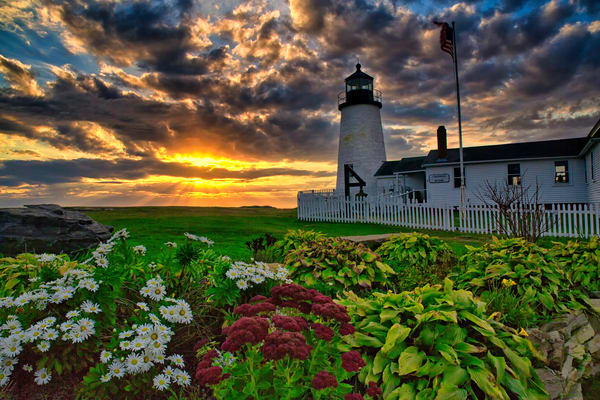 Pemaquid Point Sunrise- Bristol, Maine