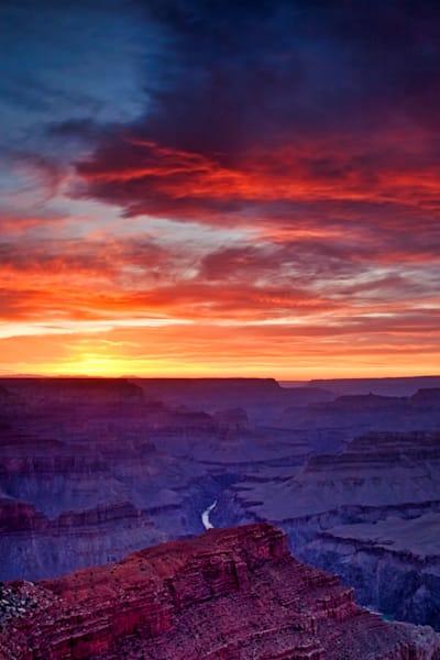 Hopi Point Sunset, Grand Canyon