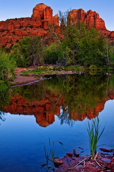 Cathedral Rock Reflection, Sedona, Arizona