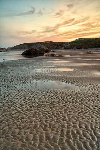 Beach Patterns, Bandon Beach