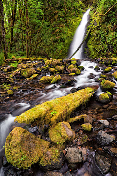 Lower Ruckel Creek Falls, Columbia River Gorge