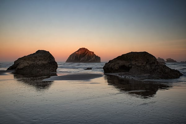Dawn at  Face Rock, Bandon