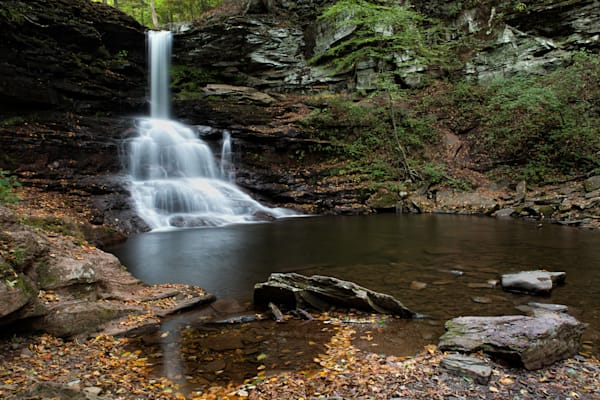Sheldon Reynolds Falls in Ricketts Glen State Park