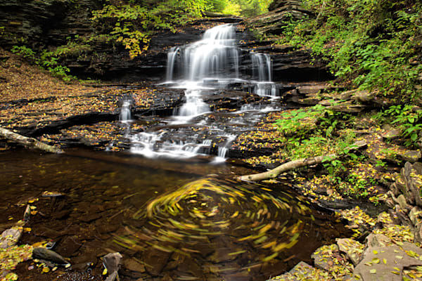 Onondaga Falls at Ricketts Glen