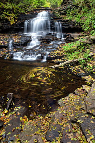 Onondaga Falls in Ricketts Glen State Park