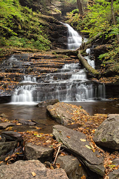 Huron Falls at Ricketts Glen