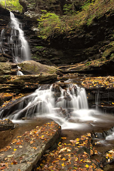 Ozone Falls at Ricketts Glen