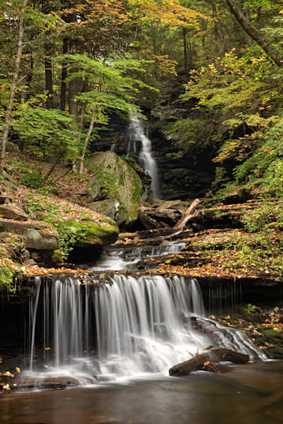 Ozone Falls along Kitchen Creek, Ricketts Glen