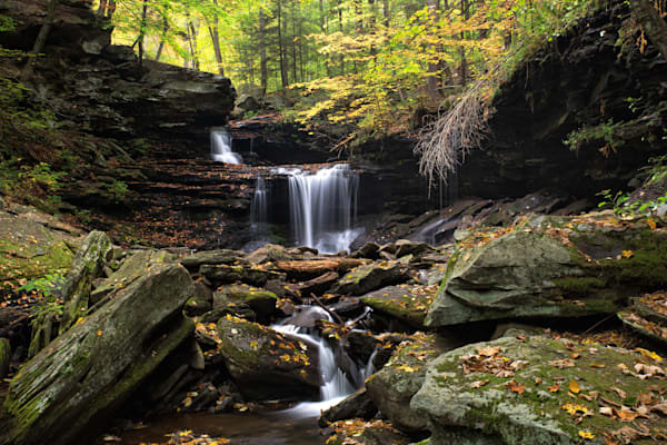 R.B. Ricketts Falls at Ricketts Glen