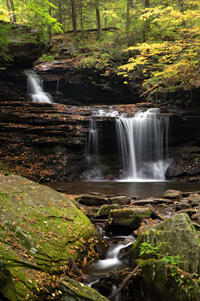 R,B. Ricketts Falls within Ricketts Glen State Park