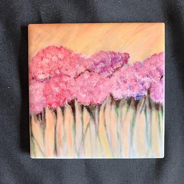 Pink Hydrangeas   Marie Art Gallery