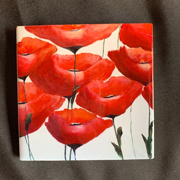 Poppies Iii   Marie Art Gallery