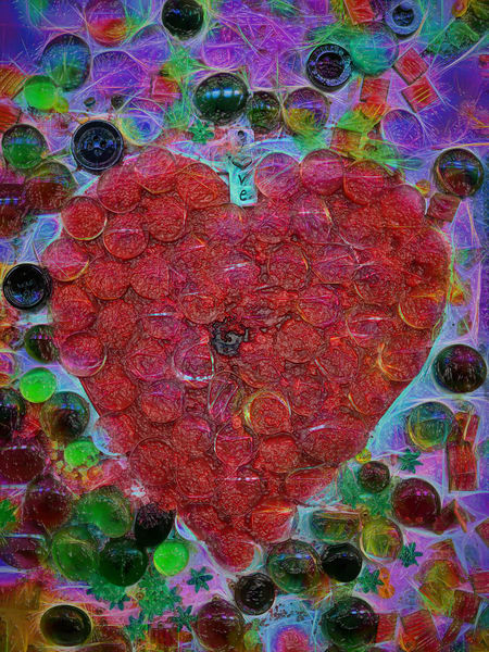 Candy Heart|Fine art photography by artist Todd Breitling