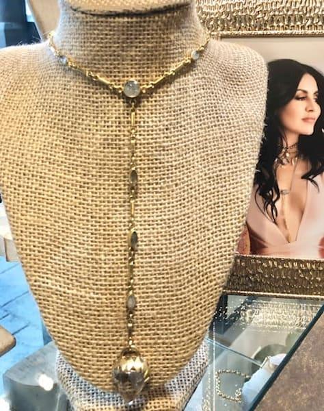 The Manifestation Quartz Necklace Art | artloversgallery