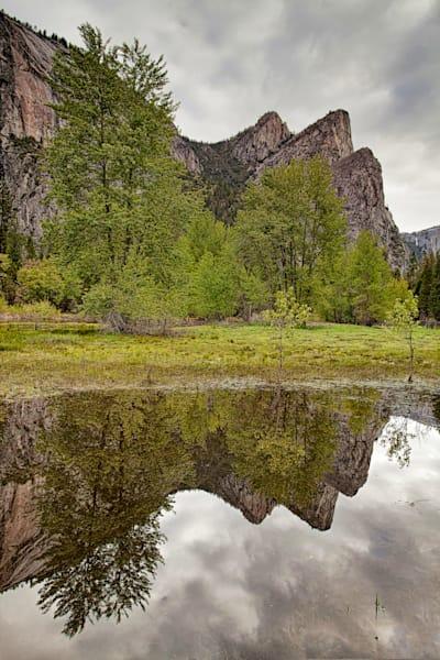 Three Brothers Reflections - Yosemite