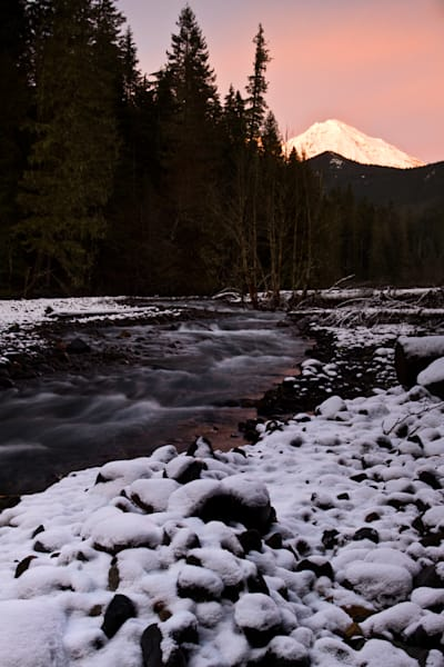 Mount Rainier and Tahoma Creek