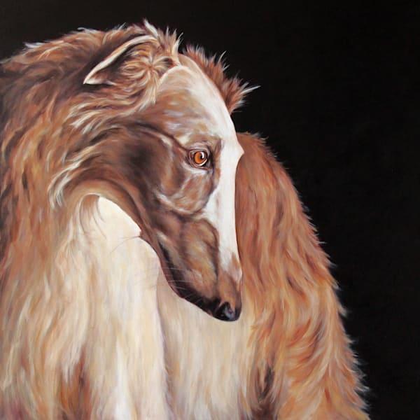 Beautiful Borzoi Art | Joan Frimberger Fine Art