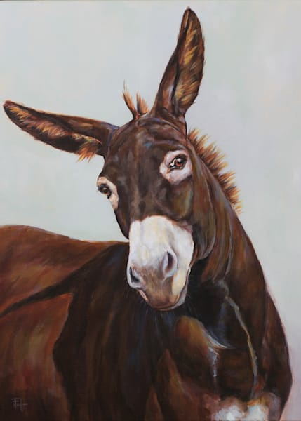 Skeptical Matilda  Art | Joan Frimberger Fine Art