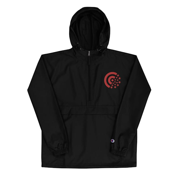 Red Label Embroidered Champion Packable Jacket