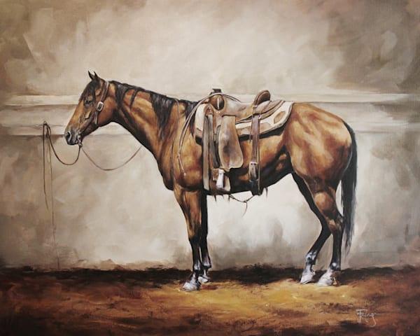 Ready And Waiting Art | Joan Frimberger Fine Art