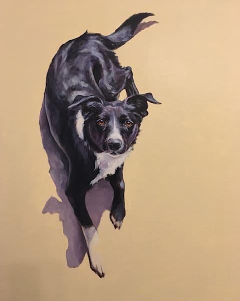Anni Looking Up Art | Joan Frimberger Fine Art