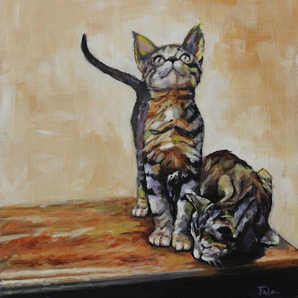Kittens Art | Joan Frimberger Fine Art