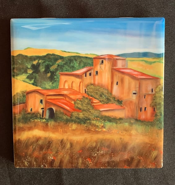 Tuscan Villa by Marie Art Gallery/Marie Studios