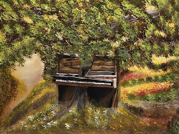 Lost Piano | Marie Art Gallery