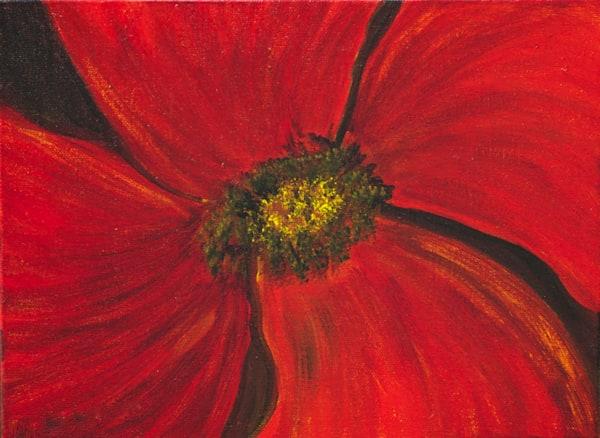 Japanese Poppy Art | Marie Art Gallery
