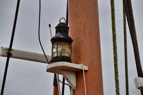 Old School Masthead Light by Keith R Wahl, Made From RI Gallery