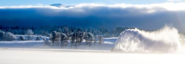 Snow Blower Plume