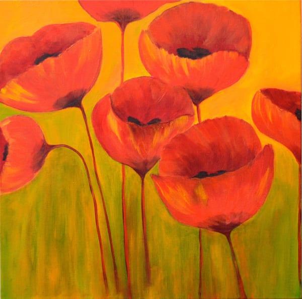 Poppies Art | Marie Art Gallery