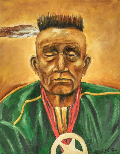 Osage Bigheart Art | capeanngiclee