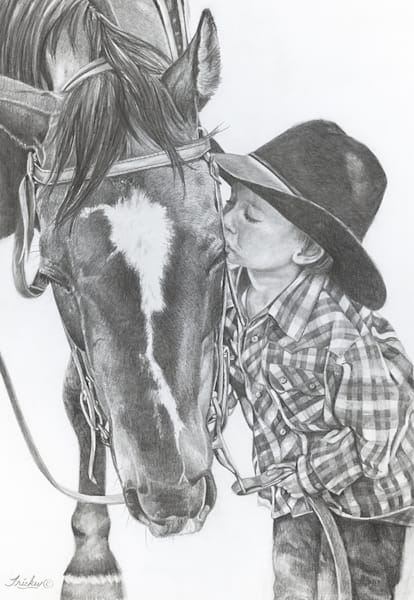 A Cowboys First Kiss