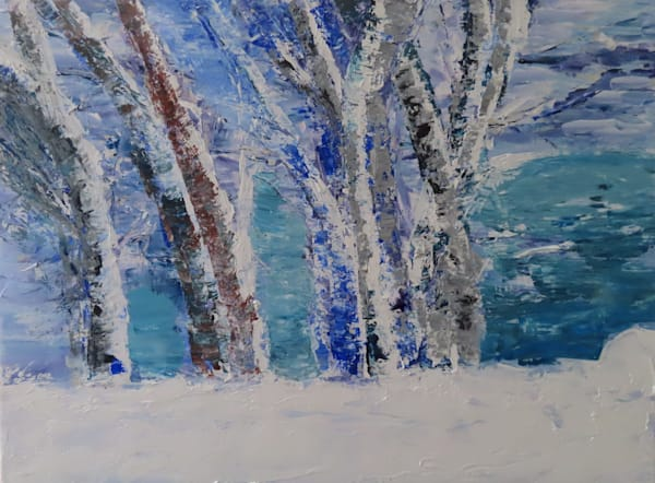 Winter's Majesty Art | LML Studio Art