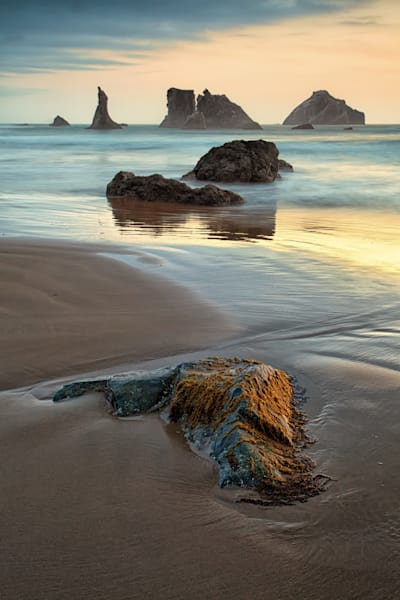 Face Rock Sunset, Bandon Beach