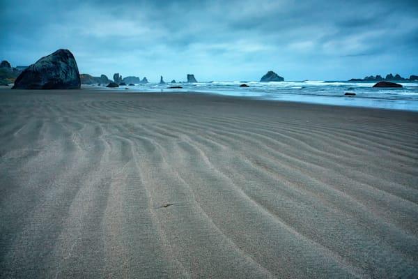 Bandon Beach Blue Hour, Oregon