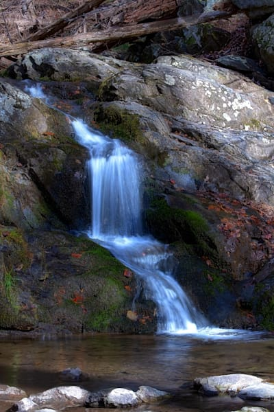 A Fine Art Photograph of Doyles Waterfalls by Michael Pucciarelli