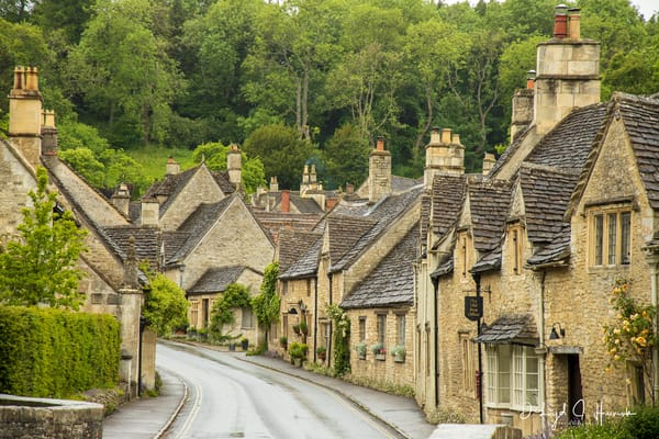 """A Quiet English Village Street"" PhotoDiscoveries"""