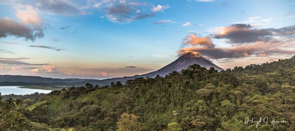"""Sunset at Arenal Volcano"", PhotoDiscoveries"