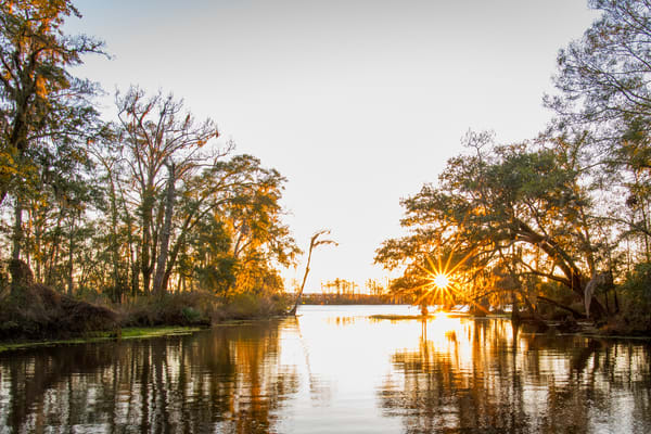 Madisonville sunset - Louisiana photography prints