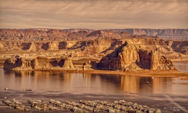 Lake Powell Entrance and Marina, d'Ellis Photographic Art photographs, Bill