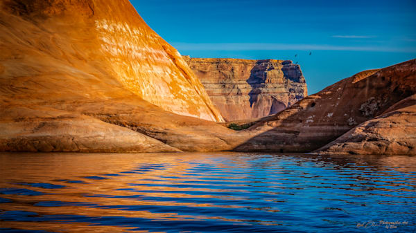 Lake Powell Drop-Off, d'Ellis Photographic Art photographs, Elsa
