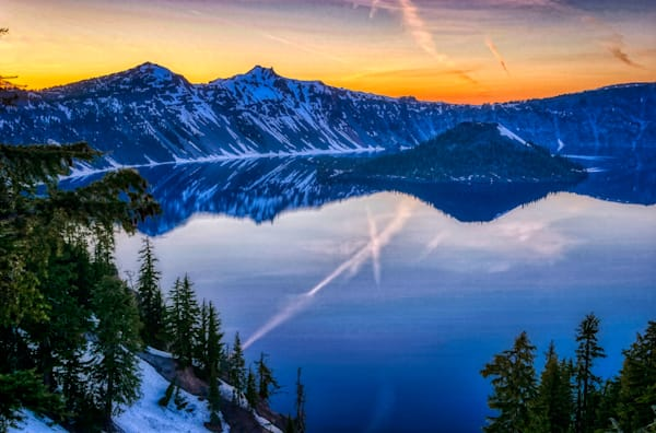 Crater Lake Sunrise Photography Art   FocusPro Services, Inc.